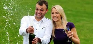 lottery winning couple