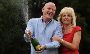 Dave and Angela Lottery Win