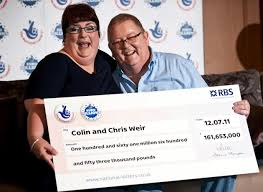 man and wife lottery winners