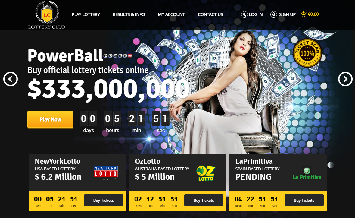 Lottery Club Review - LotteryClub.com