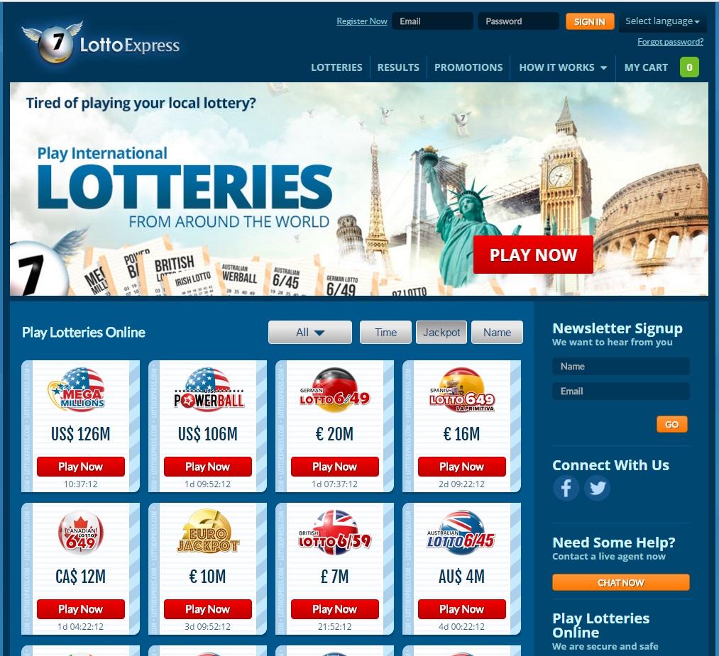 LottoExpress.com - LottoExpress Review