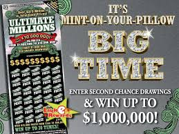Ultimate Millions scratch ticket game