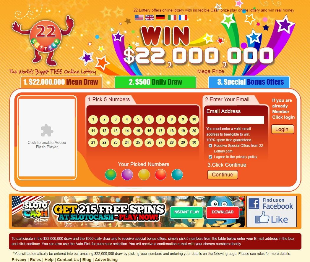 22lottery Review