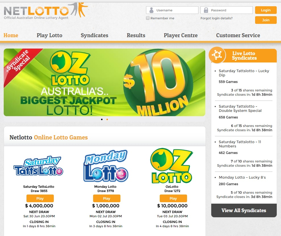 NetLotto Review by Online Lottery Shop
