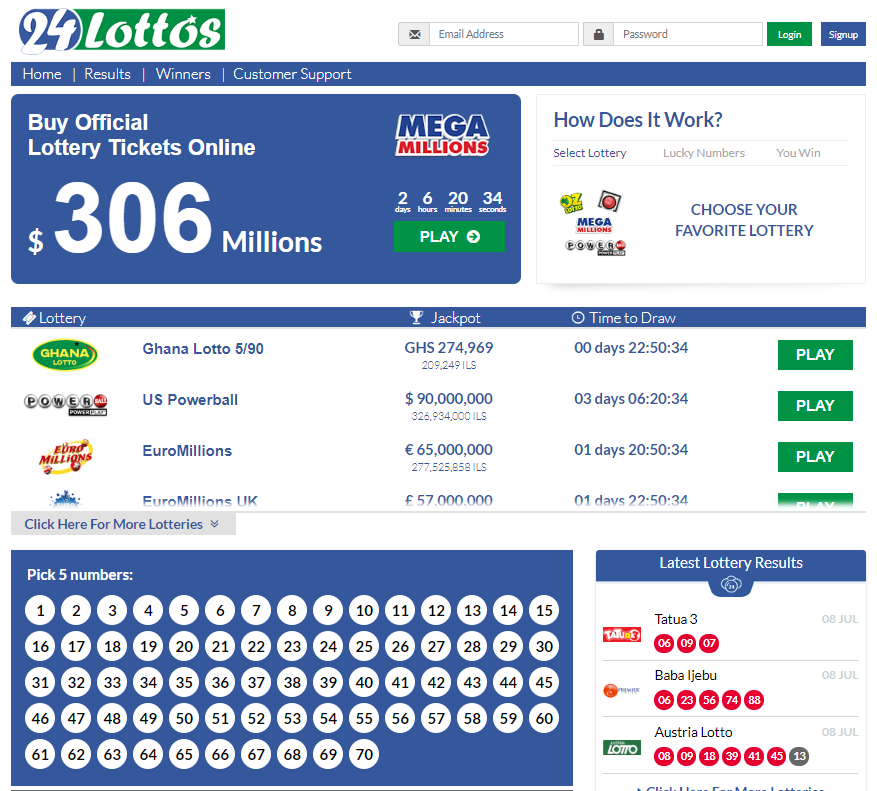 24lottos.com Review by Online Lottery Shop