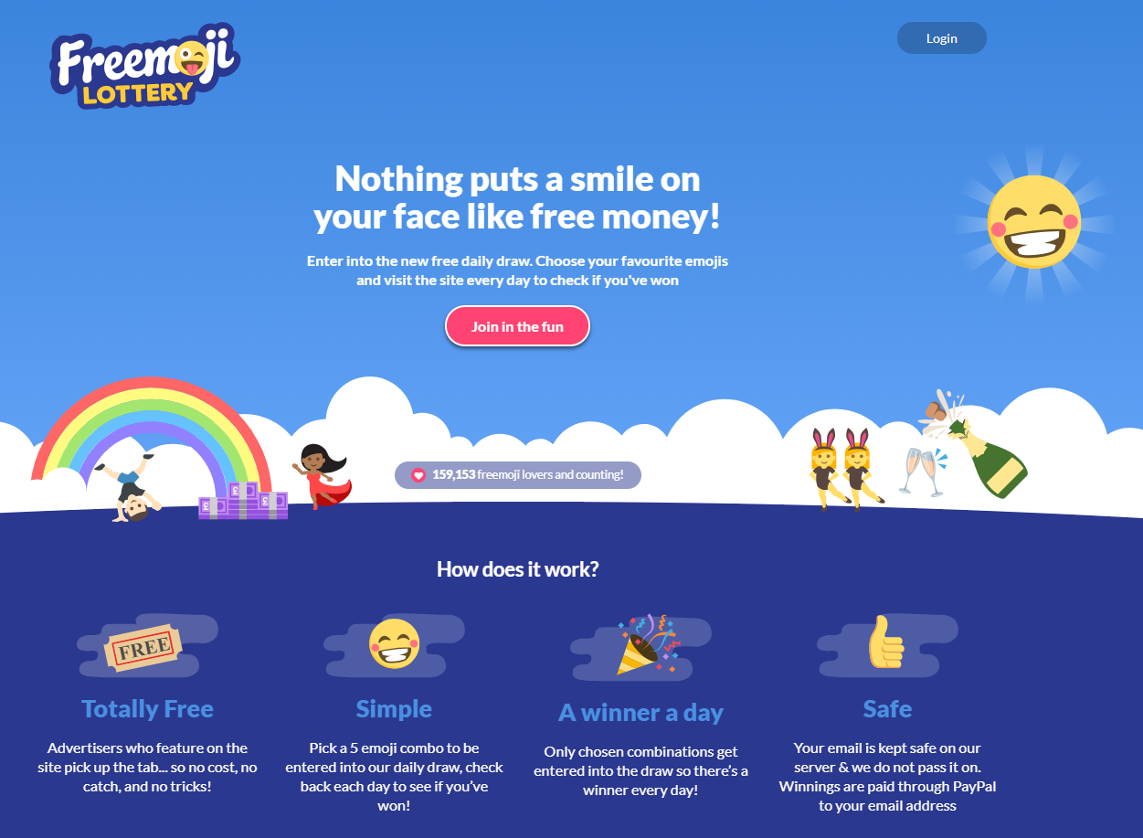 Freemoji Lottery Review by Online Lottery Shop