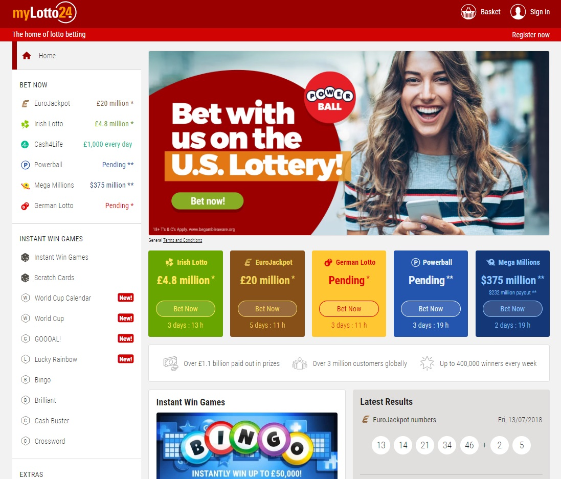 MyLotto24.com Review by Online Lottery Shop