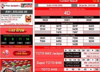Sportstoto 4D Jackpot